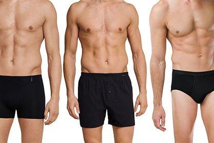 Soorten mannen onderbroeken: welk ondergoed past bij mij?