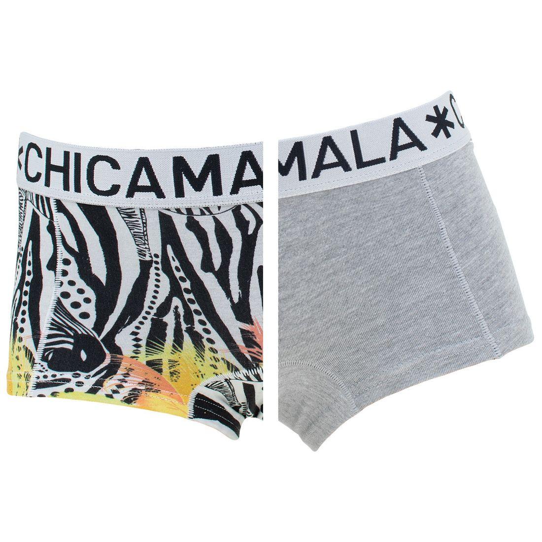 Afbeelding van Chicamala boxers meisjes 2 pack zebra