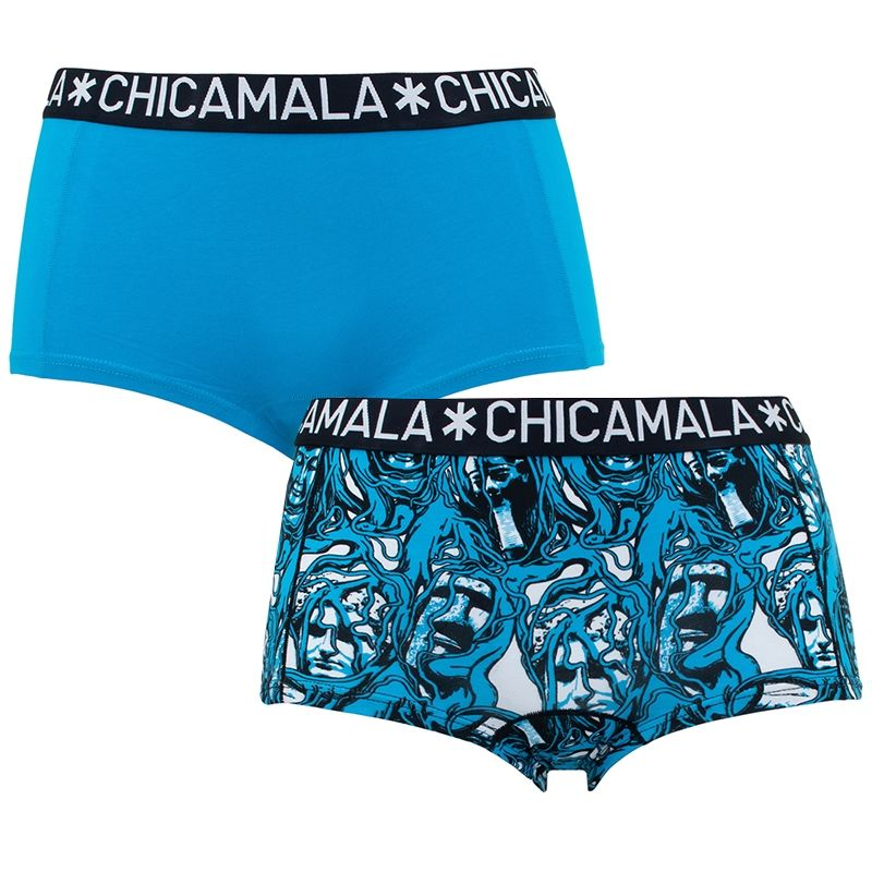 Afbeelding van Chicamala boxers dames 2 pack roots