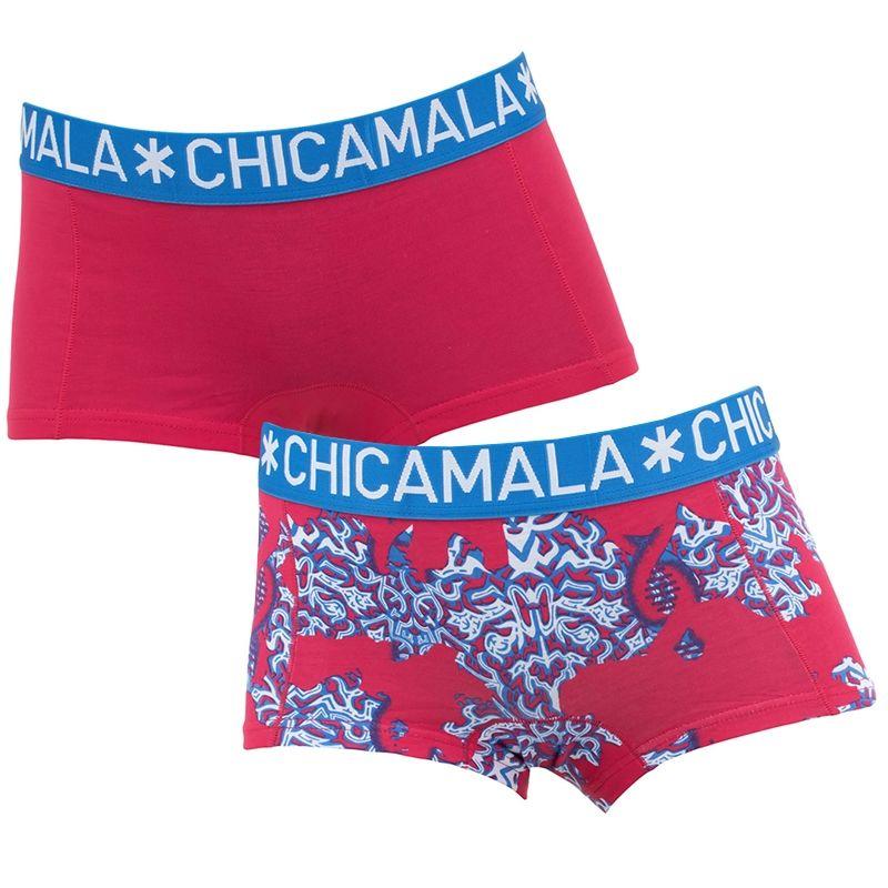 Afbeelding van Chicamala boxers meisjes 2 pack DNA