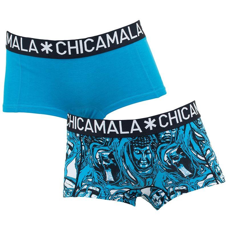 Afbeelding van Chicamala boxers meisjes 2 pack roots