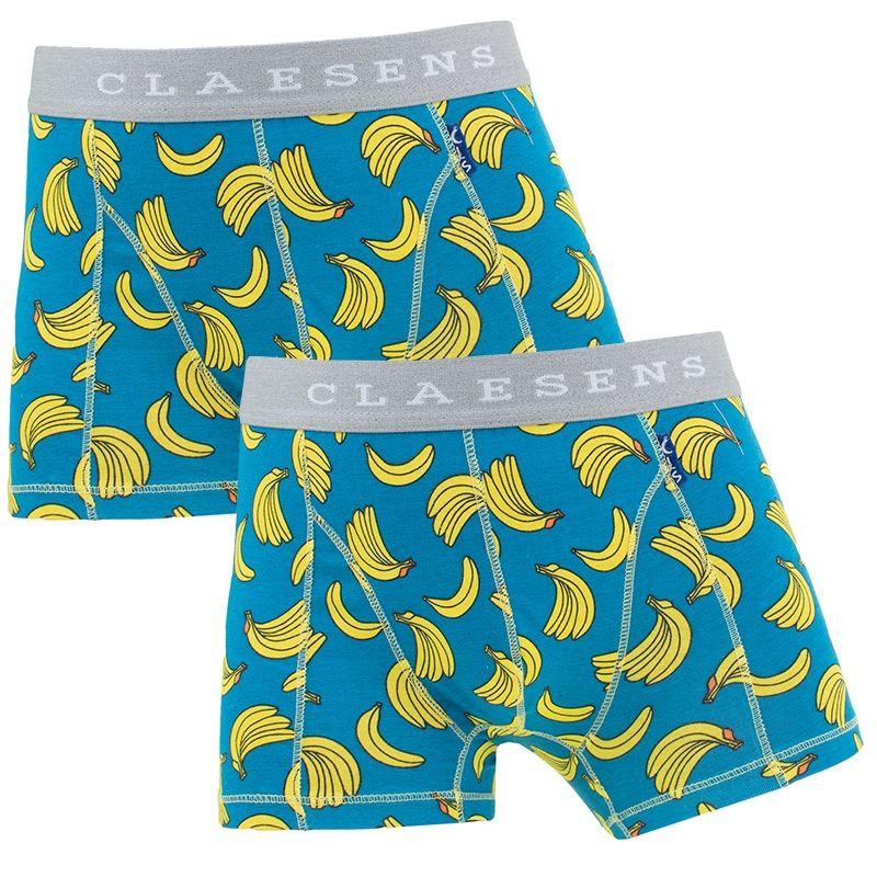 Afbeelding van Claesens boxers jongens 2 pack banana