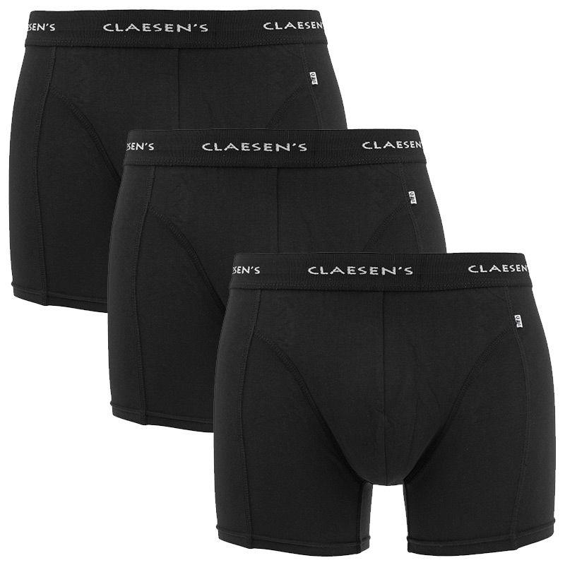 Afbeelding van Claesens boxer 3 pack boston zwart heren