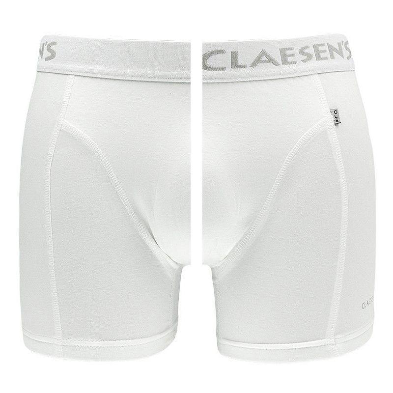 Afbeelding van Claesens boxer 2 pack boston wit heren