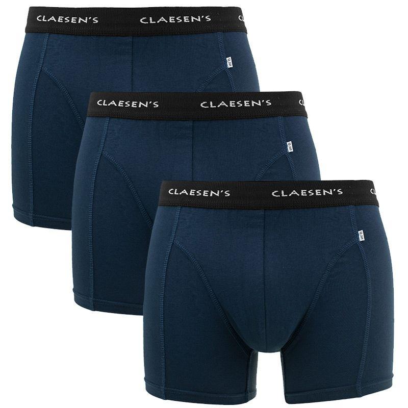 Afbeelding van Claesens boxer 3 pack boston blauw heren