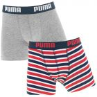 jongens 2-pack printed stripes multi III