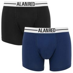 lasting 2-pack boxers blauw & zwart