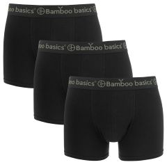 liam 3-pack trunks zwart