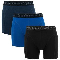 rico 3-pack zwart & blauw