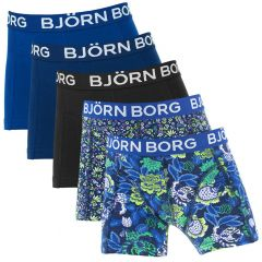 jongens 5-pack strong flower blauw