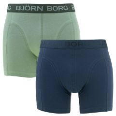 2-pack seasonal solid blauw & groen