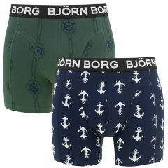 2-pack anchor blauw & groen