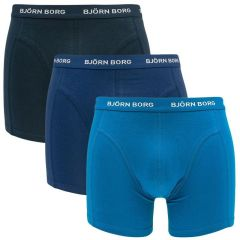 basic 3-pack blauwtinten