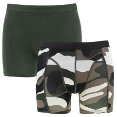 2-pack peaceful camo groen