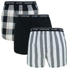 3-pack woven slim fit boxers multi