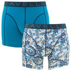 2-pack paisley logo & blauw