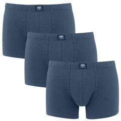 3-pack basic boxers blauw