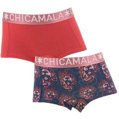 meisjes 2-pack mdusa rood & blauw