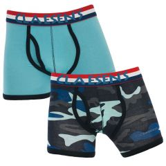 jongens 2-pack army & blauw
