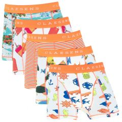 jongens 5-pack hawaii multi