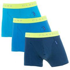 jongens 3-pack combi blauw