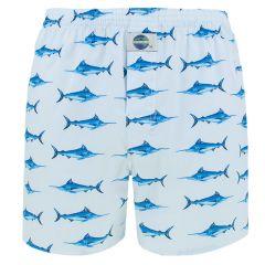 boxershort swordfish blauw