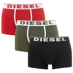 damien 3-pack rood / groen / zwart
