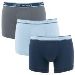 stretch combi 3-pack blauw & grijs