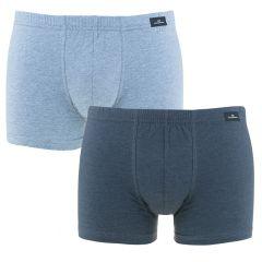 2-pack boxers basic blauw
