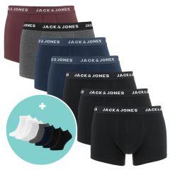 travel kit giftbox 7-pack trunks & sneaker socks multi