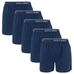 mick 5-pack woven boxers blauw