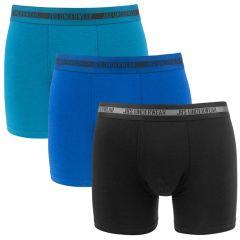 bamboe 3-pack zwart & blauw