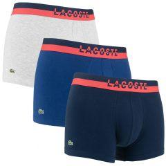 3-pack trunks contrast blauw & grijs II