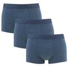 premium trunks 3-pack blauw
