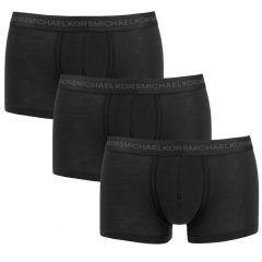 3-pack supima basic trunks zwart