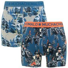 mongolian 2-pack blauw