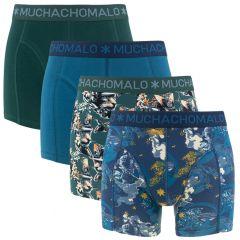 samurai 4-pack blauw & groen
