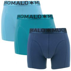 3-pack blauw III