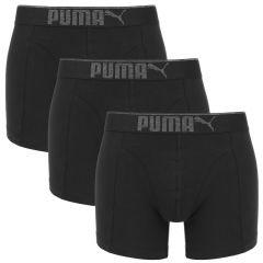 premium sueded cotton boxer 3-pack zwart