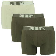 premium sueded cotton boxers 3-pack groen II