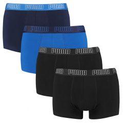 basic ecom 4-pack trunks blauw & zwart