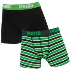 jongens 2-pack stripe groen