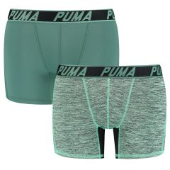 active microfiber grizzly boxers 2-pack groen