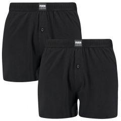 loose jersey 2-pack boxers zwart