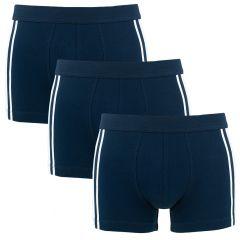 95/5 3-pack shorts blauw