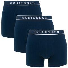 95/5 3-pack basic shorts blauw