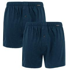 jersey 2-pack wijde boxers blauw