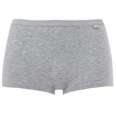 dames basic short grijs