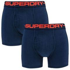 boxers 2-pack donkerblauw