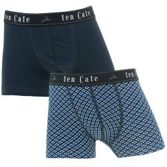 jongens 2-pack shorts block & blauw